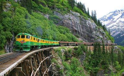 Skagway railroad excursion